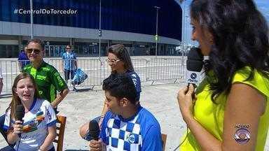 Torcedores de São José e Veranópolis esperam bom resultado do jogo - Assista ao vídeo.