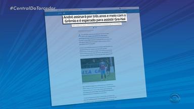 André assina contrato de três anos e meio com o Grêmio - Assista ao vídeo.