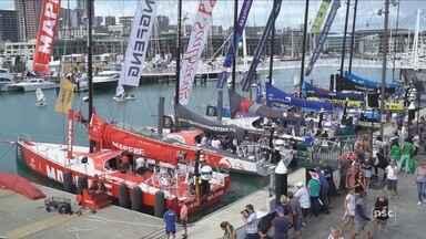 Veleiros da Volvo Ocean Race irão iniciar viagem de 20 dias a Itajaí - Veleiros da Volvo Ocean Race irão iniciar viagem de 20 dias a Itajaí