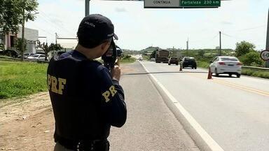 Polícia Rodoviária Federal intensifica fiscalização para o feriado de São José - Outras informações no G1.com.br/ce