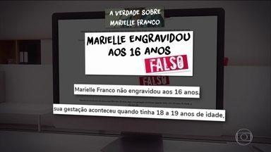 PSOL cria página para desmentir boatos sobre Marielle Franco - Partido recebeu mais de 20 mil denúncias sobre boatos relacionados à vereadora, assassinada no Rio de Janeiro, através da ferramenta. A desembargadora Marília Castro Neves está entre os que compartilharam informações falsas.