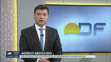 Justiça absolve ex-governador Agnelo Queiroz - Ministério Público acusava o político de improbidade administrativa por reintegrar um PM depois de 10 anos de exclusão da corporação.