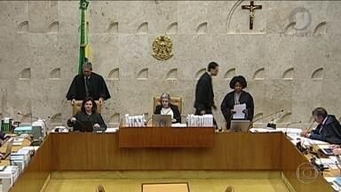 STF analisa habeas corpus do ex-presidente Lula - O julgamento dos recursos de Lula no caso do triplex do Guarujá foi marcado para a próxima segunda. Os desembargadores da oitava turma do TRF da 4ª Região vão analisar os chamados embargos de declaração, apresentados pela Defesa.