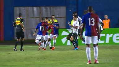 Maringá FC perde para o Paraná Clube - Mesmo com a derrota o Maringá se classificou