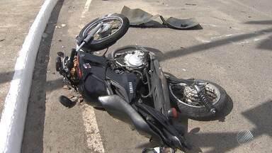 Bahia gastou 7 milhões de reais com acidentes envolvendo motociclistas em 2017 - Muitas das vezes, a causa é a imprudência.