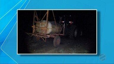 Criança morre atropelada por trator em Taquarussu, MS - Acidente foi no sábado (24).