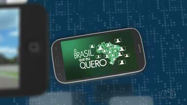 Que Brasil você quer para o futuro? Envie seu vídeo e participe - Que Brasil você quer para o futuro? Envie seu vídeo e participe