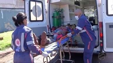 Médicos do Samu enfrentam obstáculos diariamente na região de Dourados - Os profissionais estão sempre dispostos a ajudar quem necessita de socorro.