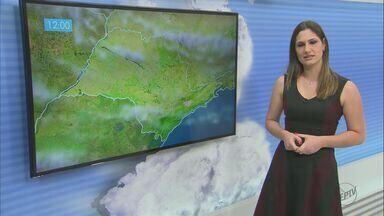 Confira a previsão do tempo para a região no domingo - Confira a previsão do tempo para a região no domingo