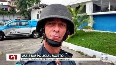 PM é assassinado durante tentativa de assalto em Vila Valqueire - O Policial Militar estava abastecendo o carro em um posto de gasolina na estrada Intendente Magalhães, Vila Valqueire. Três bandidos tentaram render o policial para tentar roubar a arma. O militar entrou em luta corporal e acabou sendo morto.