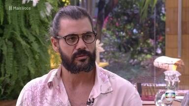 Juliano Cazarré conversa com Ana Maria Braga sobre sua carreira - Ator fala sobre a oportunidade de trabalhar com grandes nomes da televisão em 'O Outro Lado do Paraíso'