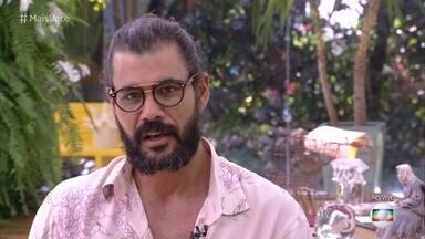 Juliano Cazarré fala sobre relação de Mariano com Sofia e Lívia na novela das nove - Ator comenta o processo de construção de seu personagem em 'O Outro Lado do Paraíso' e ouve a opinião do público sobre o triângulo amoroso