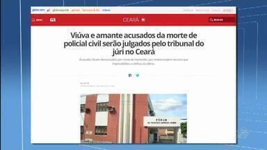 Confira o destaque do G1 no CETV 1ª Edição - Saiba mais em g1.com.br/ce