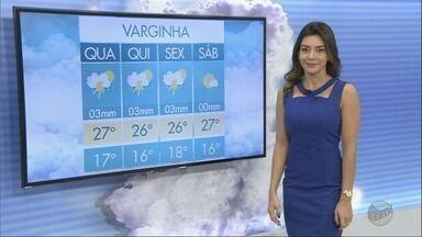 Confira a previsão do tempo para esta quarta-feira (4) no Sul de Minas - Confira a previsão do tempo para esta quarta-feira (4) no Sul de Minas