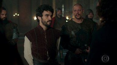 Cássio é detido por Romero - Rodolfo manda Romero levar Cássio para a masmorra