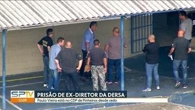 Ex-diretor da Dersa é preso acusado de fraudes em obras públicas - O Ministério Público Federal diz que Paulo Vieira de Souza desviou dinheiro de obras do trecho sul do Rodoanel, da nova Marginal Tietê e da Avenida Jacu-Pêssego