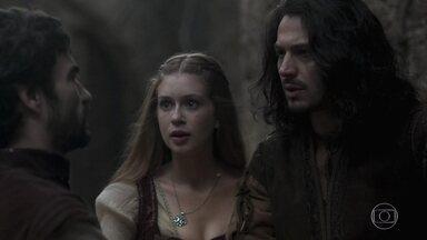 Afonso tem a ideia de forjar um plano falso - Assim Virgílio vai pensar que está inserido no grupo