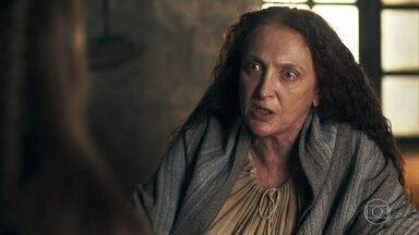 Contância questiona Amália sobre suas atitudes - Amália pede para a mãe cuidar de Levi caso aconteça o pior com ela e Afonso
