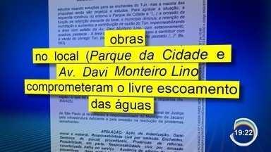 Justiça manda Jacareí indenizar moradores vítimas de enchentes - Moradores são da região central.