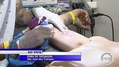 São José dos Campos sedia feira de tatuagem - Evento reúne 250 profissionais.