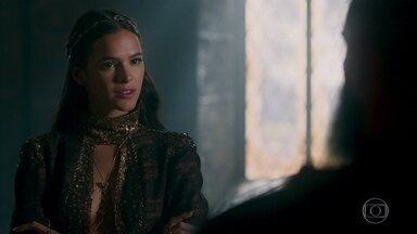 Catarina ordena que Delano capture Amália sem vida - Ela diz que somente a vida de Afonso deve ser poupada