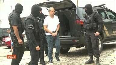 Ex-governador Sérgio Cabral vai voltar a cumprir pena em um presídio do RJ - Atualmente ele está preso no Complexo de Pinhais, na região metropolitana de Curitiba. A decisão sobre a transferência Cabral foi da segunda turma do Supremo Tribunal Federal.