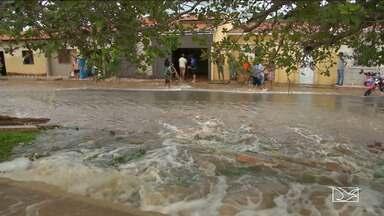 Forte chuva provoca estragos nas regiões Leste e Central do Maranhão - Município de Tuntum teve a maior enchente dos últimos 30 anos.
