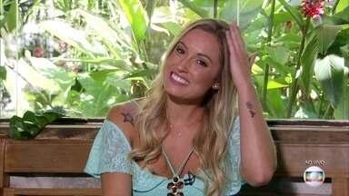 Jéssica diz que a 'coroa' está sempre com ela - Ana Maria Braga brinca com frase motivacional que a personal trainer usava no BBB18