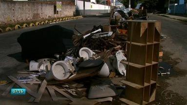 Ação realizada em Maceió conscientiza a população sobre descarte irregular de lixo - Problema prejudica a todos.