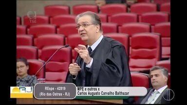 TSE nega registro de candidatura de Carlos Augusto e pede novas eleições em Rio das Ostras - Assista a seguir.