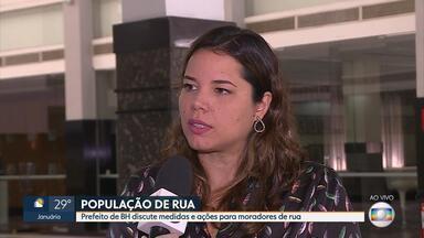 Kalil faz reunião para discutir medidas para população de rua em Belo Horizonte - PM, MP e secretarias municipais participaram do encontro.
