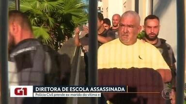 Polícia realiza operação para prender suspeito de mandar matar ex-esposa - Francisco Saboia foi preso na manhã desta quarta-feira (11), suspeito de ter mandado matar a ex-esposa em São Gonçalo.