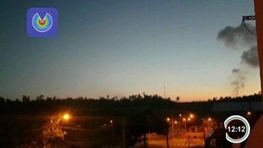 Barulho na Revap incomoda moradores em São José - Telespectadores mandaram vídeos.
