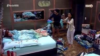 Gleici e Kaysar acordam Ana Clara - Sister fez aniversário dentro da casa