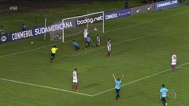 Atlético-MG e Bahia sofrem derrota na Copa Sul-Americana - Atlético-MG e Bahia sofrem derrota na Copa Sul-Americana