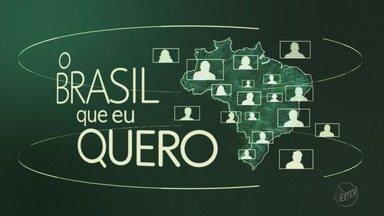 TV Globo quer saber: 'Que Brasil você quer para o futuro?' - Grave seu vídeo e envie para o Whatsapp (16) 99700-0000.