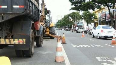 Começam obras para a construção de um retorno na avenida Morangueira - De acordo com a prefeitura a obra deve ficar pronta em uma semana