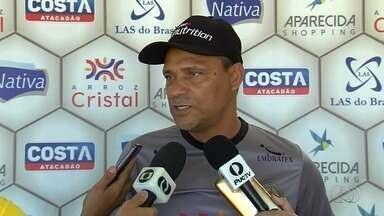 Aparecidense apresenta técnico Everton Goiano para a Série D - Após saída de Márcio Azevedo, Camaleão aposta em treinador que fez boa campanha no Iporá.