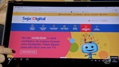 Pessoas podem ganhar kits para TV digital em Campo Grande - Essas pessoas são beneficiadas de programas sociais que estão descobrindo que têm direito aos equipamentos gratuitamente.