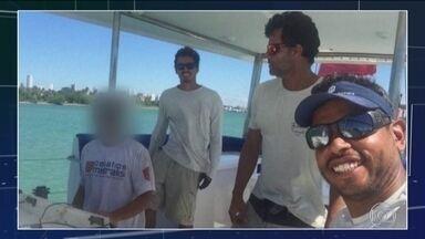 Velejadores brasileiros recorrem de condenação pela Justiça de Cabo Verde - Eles foram condenados a 10 anos de prisão por tráfico internacional de drogas. Defesa alega que eles não sabiam.