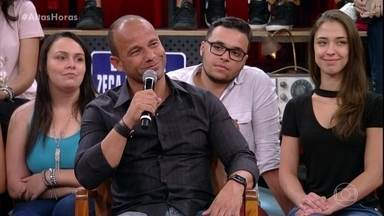 """Léo Bastos conta que Neymar o chamava de """"tio"""" - Ele conta que acompanha a carreira do amigo desde o início"""