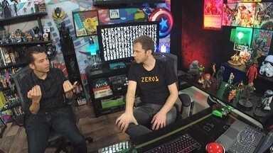 Tiago Leifert conversa com o roteirista de games Arthur Protásio - Toda narrativa começa com um roteirista
