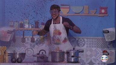 Prova do Líder Cozinha Explosiva: Breno está eliminado - Prova do Líder Cozinha Explosiva:Breno está eliminado