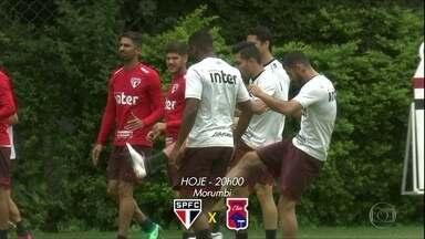 São Paulo pronto para a estreia contra o Paraná - São Paulo pronto para a estreia contra o Paraná