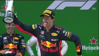 Ricciardo vence o Grande Prêmio da China - Ricciardo vence o Grande Prêmio da China