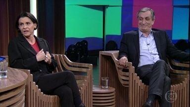 Marina Lima fala sobre novo trabalho - Cantora está lançando o álbum 'Novas Famílias'