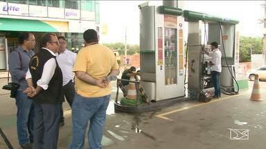 INMEQ identifica irregularidades em bombas de combustível em Imperatriz - Também foram identificadas irregularidades em balanças de combustível durante a fiscalização.