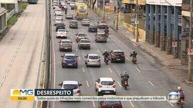 Mais de 720 mil multas foram aplicadas a motoristas em Belo Horizonte em 2017 - Entrevista com o tenente da Polícia Militar de Trânsito Marco Antônio Said.