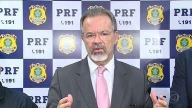 Raul Jungmann fala sobre investigação da morte de Marielle Franco - O ministro da Segurança Pública, Raul Jungmann, disse que a principal linha de investigação é a de participação da milícia.