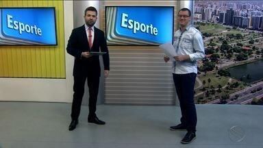 Confira as notícias do esporte desta segunda (17/04) - Thiago Barbosa destaca planejamento do Sergipe para a Série D. Estreia é no sábado contra o ASA e diretoria trabalha para manter elenco.